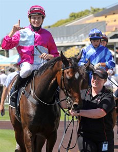 One month after landing her fourth successive win at Doomben on August 15, Baccarat Baby put her unbeaten record on the line and, despite racing green in the run home, she came through this latest test with flying colours.