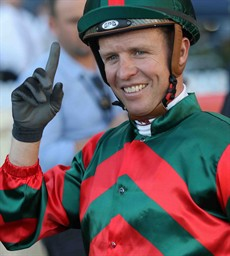 Hugh Bowman would have been on Bonneval in the Cup but she is carrying 52.5kilograms and loses nothing with The Everest winning jockey Kerrin McEvoy (above) booked to ride her. He has been in scintillating form (see race 8)